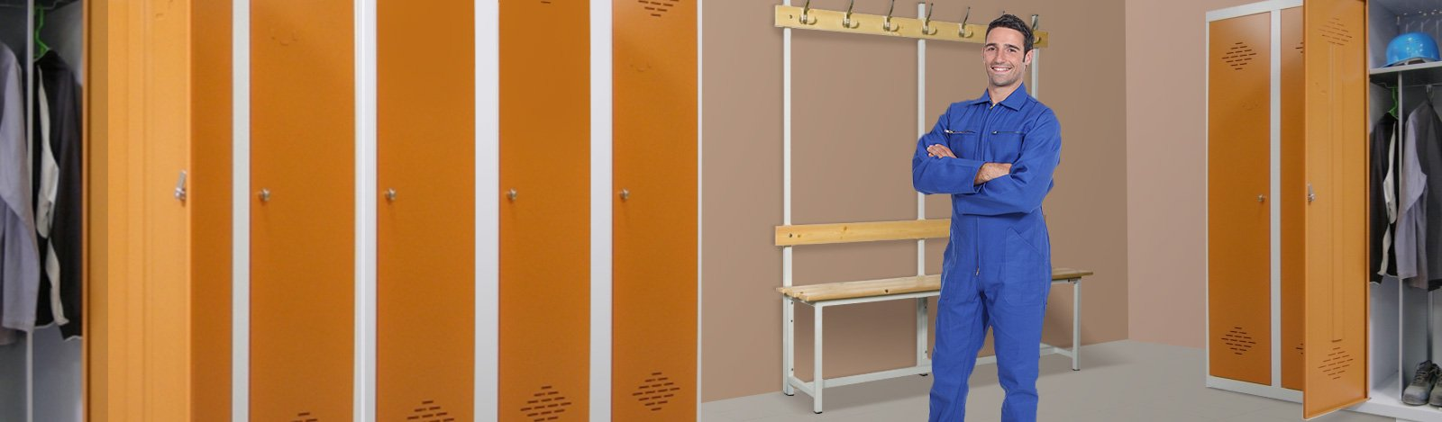 Vestiaires Industrie Sale