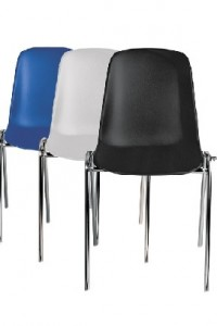 Photo CHAISES COQUES EMPILABLES #1